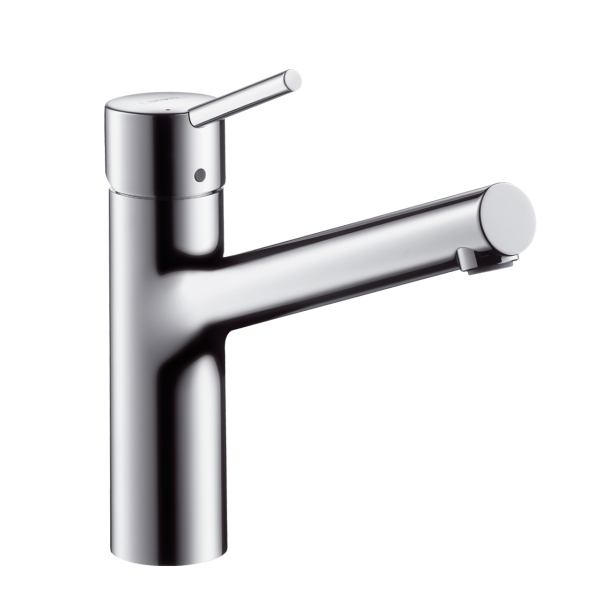 hansgrohe talis s single lever swivel 150 chrome kitchen mixer tap. Black Bedroom Furniture Sets. Home Design Ideas