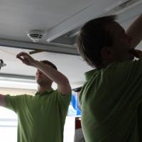 LED Tube Install