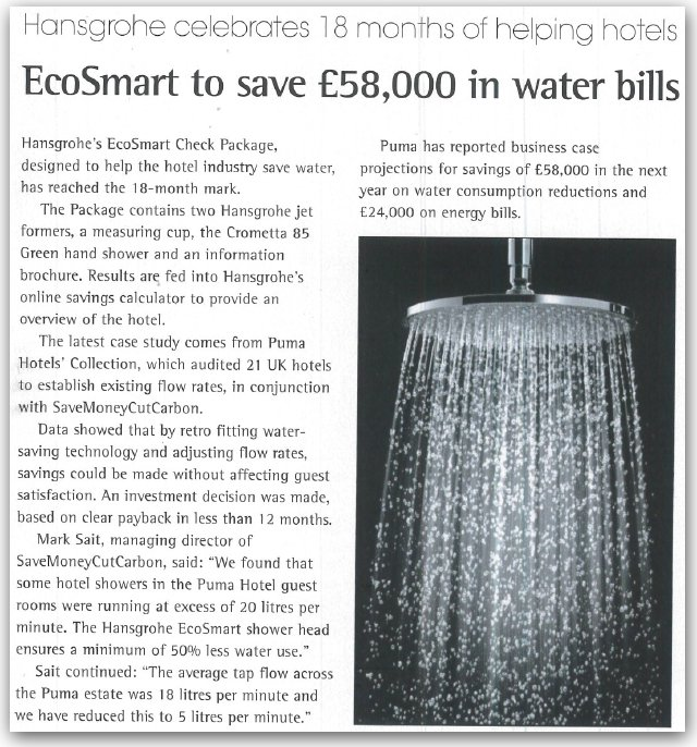 Mark Sait quoted in Kitchens & Bathrooms News - SaveMoneyCutCarbon