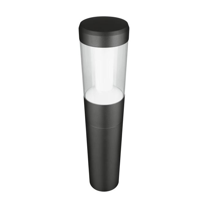 Ledvance Outdoor Bollard 500mm Lantern Grey 12W - Main