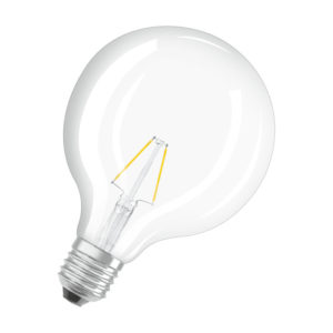 Ledvance Rerofit Classic Globe LED Filament E27 4W 2700K
