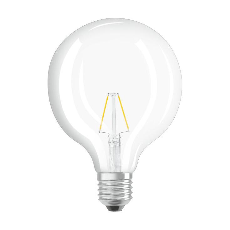 Ledvance Rerofit Classic Globe LED Filament E27 4W