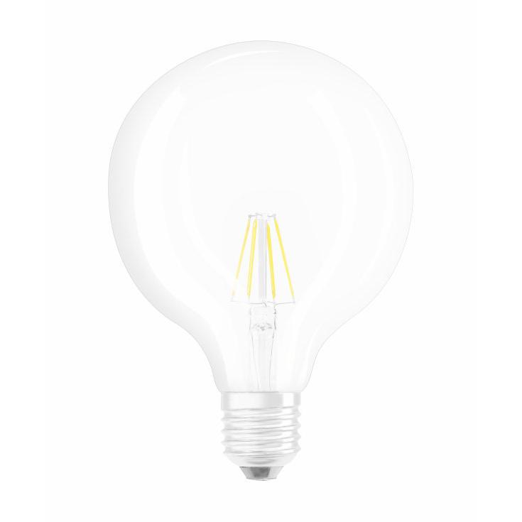 Ledvance Rerofit Classic Globe LED Filament E27 6W