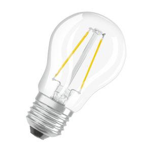 Ledvance Retrofit Classic P LED Filament E27 2W 2700K