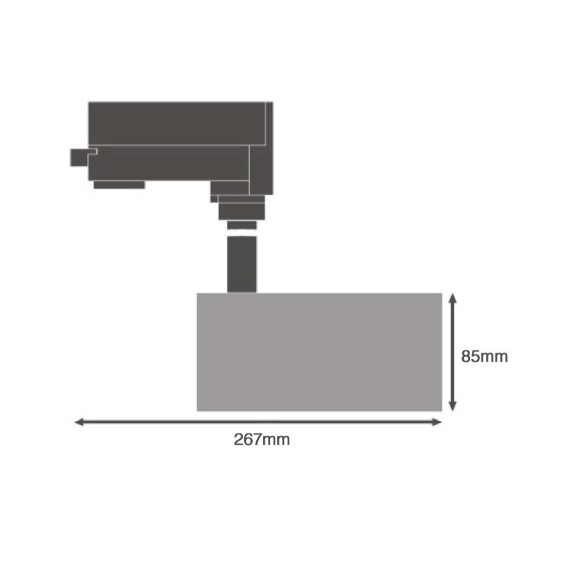 Ledvance Track Light 35W - Dimensions