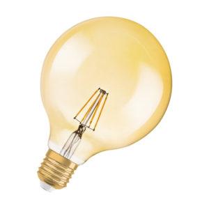Ledvance Vintage 1906 LED Filament Globe E27 7W 2400K
