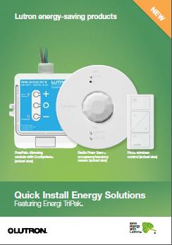 Lutron Energi TriPak Product Brochure