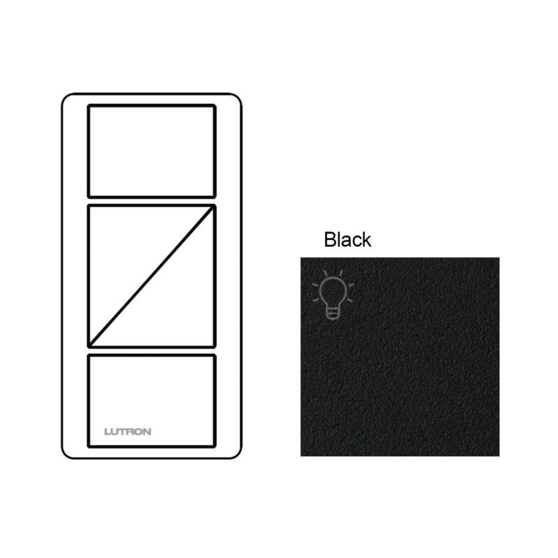 Lutron Pico 2-RL Black button