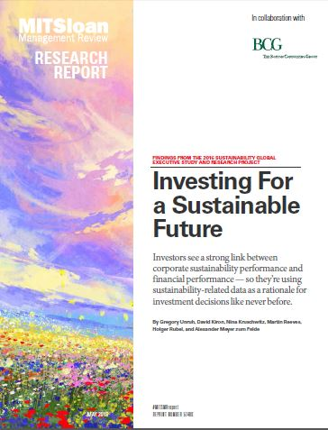 MIT Investing for a Sustainable Future cover