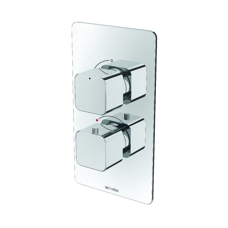 Methven Kiri Thermostatic Mixer One Outlet for Concealed Installation - Main