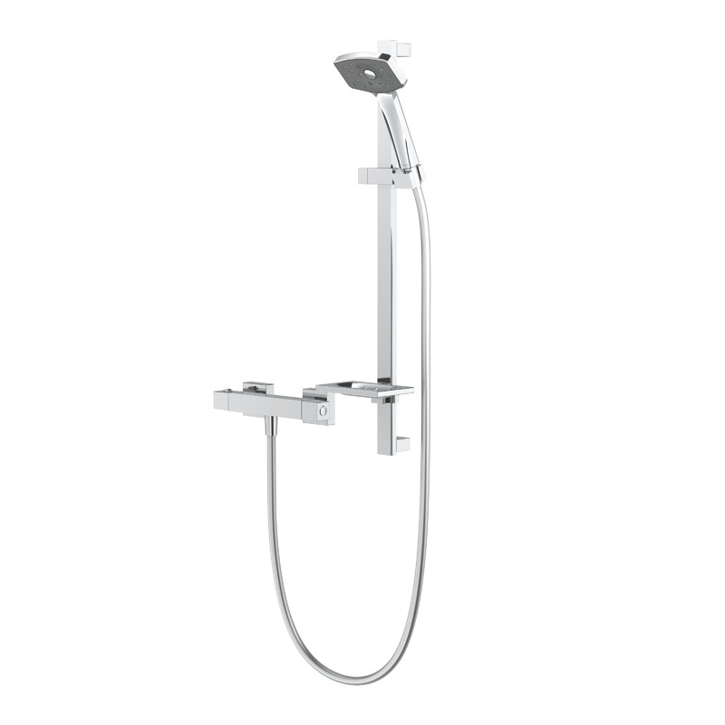 Methven Waipori Satinjet Shower Set Chrome - Main
