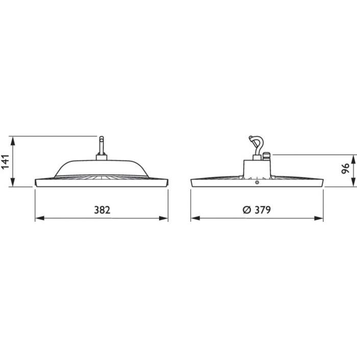 Philips-3rd-Gen-Coreline-LED-High-Bay-85W-911401505331---Dimension