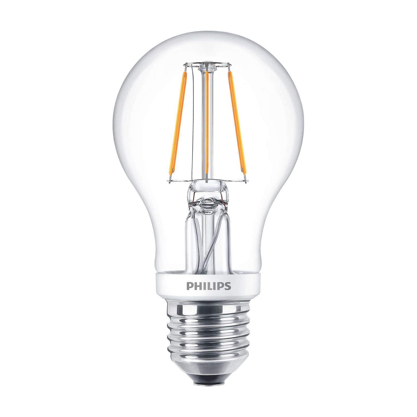 philips led filament bulb clear a60 e27 4 5w 2700k. Black Bedroom Furniture Sets. Home Design Ideas