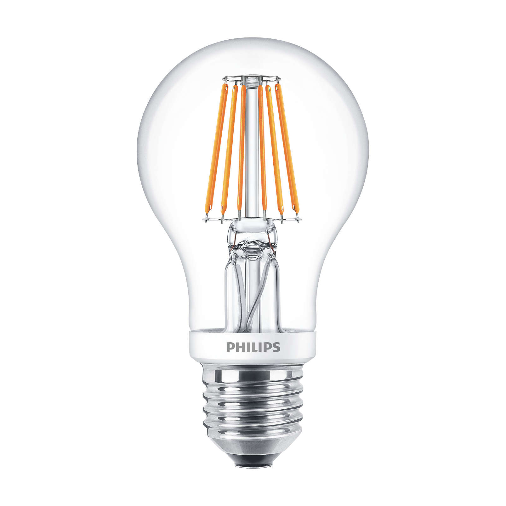 philips led filament bulb clear a60 e27 7 5w 2700k. Black Bedroom Furniture Sets. Home Design Ideas