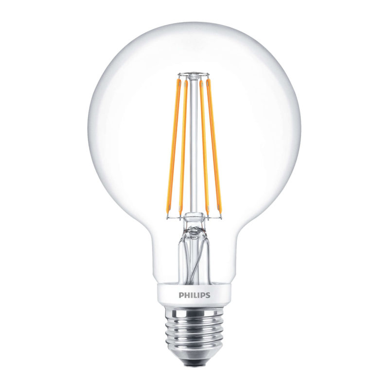 Philips LED Filament Globe E27 7W 2700K-929001229002-Main