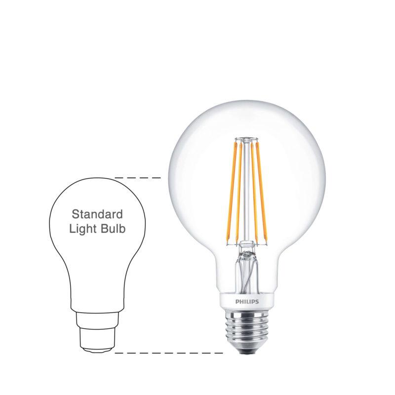 Philips LED Filament Globe E27 7W 2700K-929001229002-Main-wd