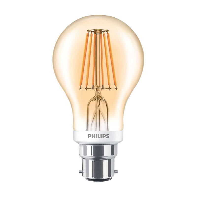Philips LED Filament Gold B22 7.5W 2000K-929001257802-Main