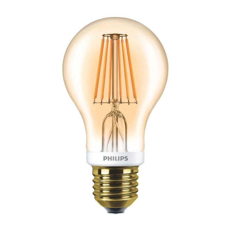 Philips LED Filament Gold E27 7.5W 2000K-929001228102-Main
