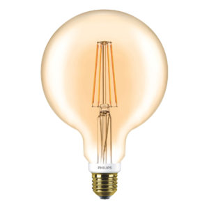 Philips LED Filament Gold Globe E27 7W 2000K-929001229102-Main