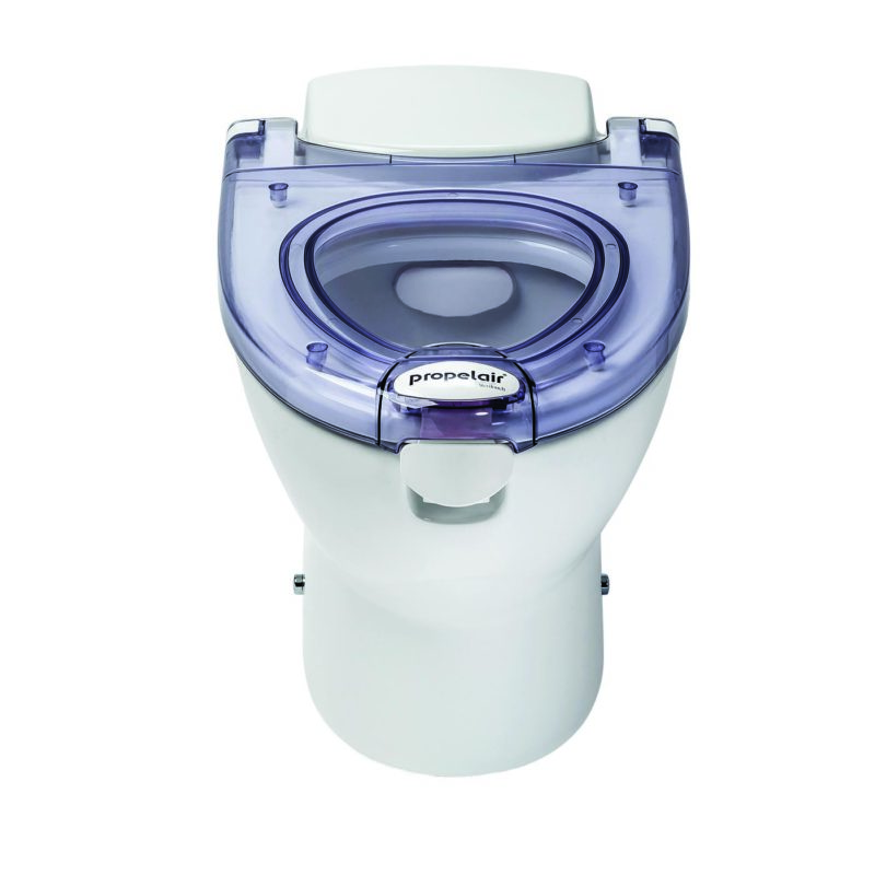 Propelair Toilet Clear Lid - Front