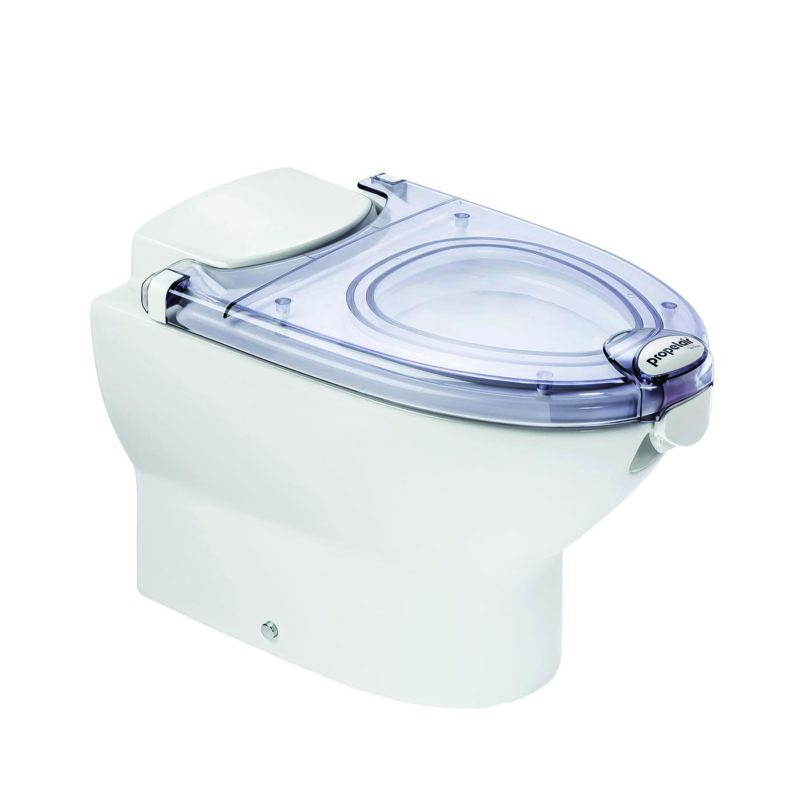 Propelair Toilet Clear Lid - Main