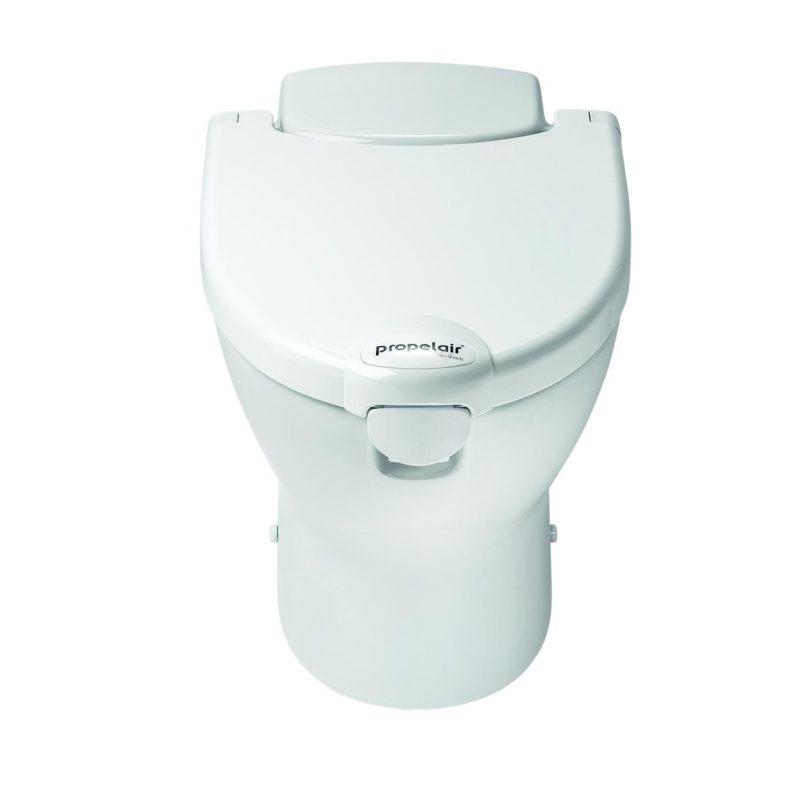 Propelair Toilet White Lid - Front