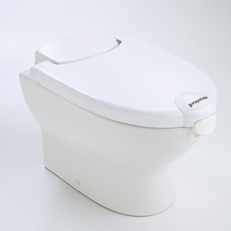 Propelair High-Performance Toilet White Lid