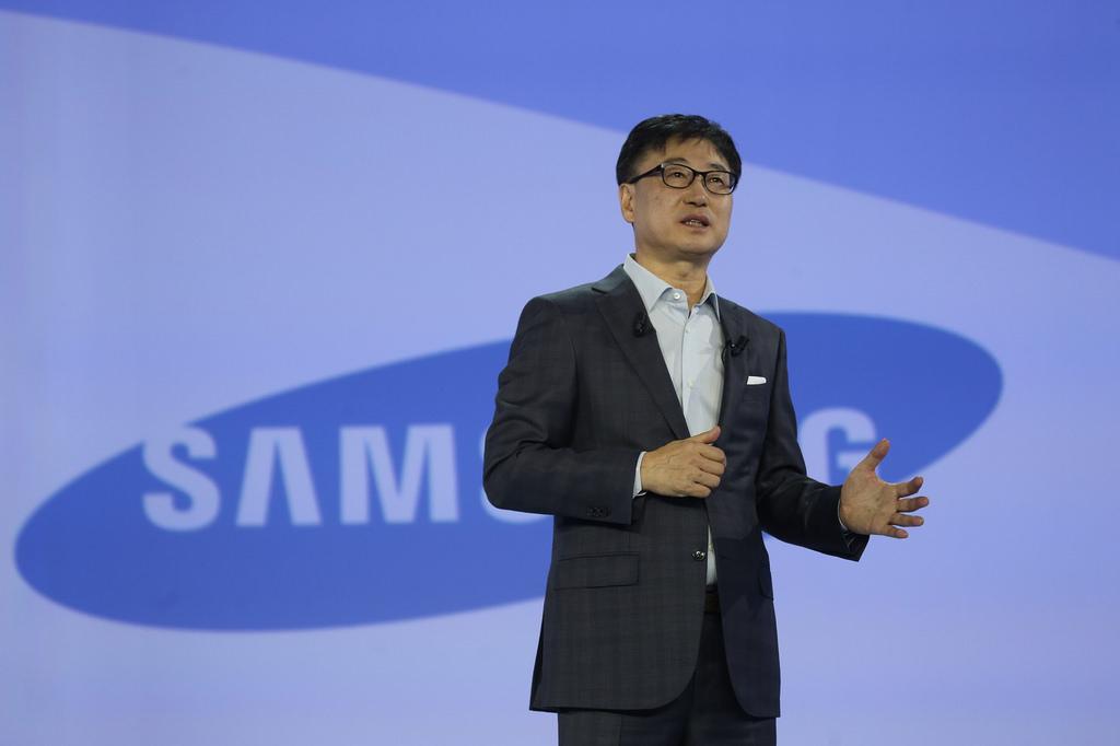 Image of Samsung President Boo-Keun Yoon