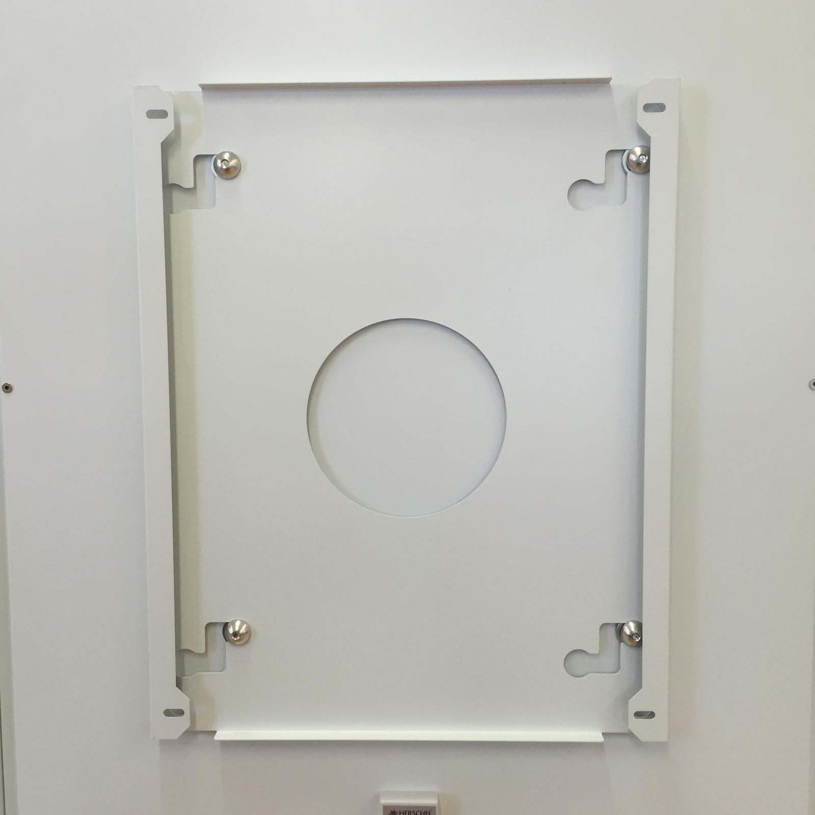 Herschel Select Xl 700x1300mm 700w Black Glass Frameless