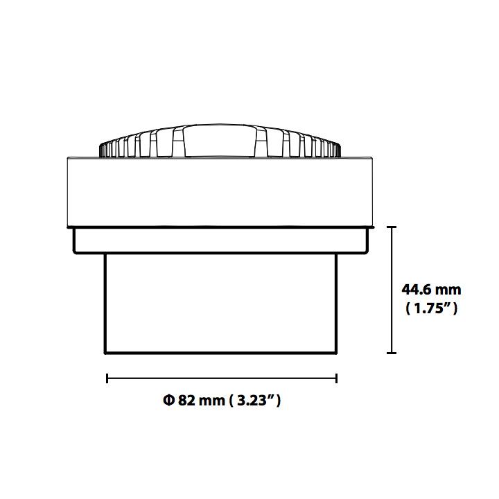 Soraa Arc Snoot 100mm - Dimensions