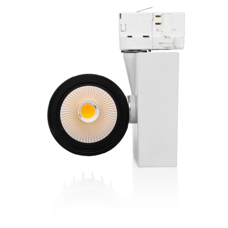 Verbatim 2nd Generation White LED Track Light 24W 3000k-reflect