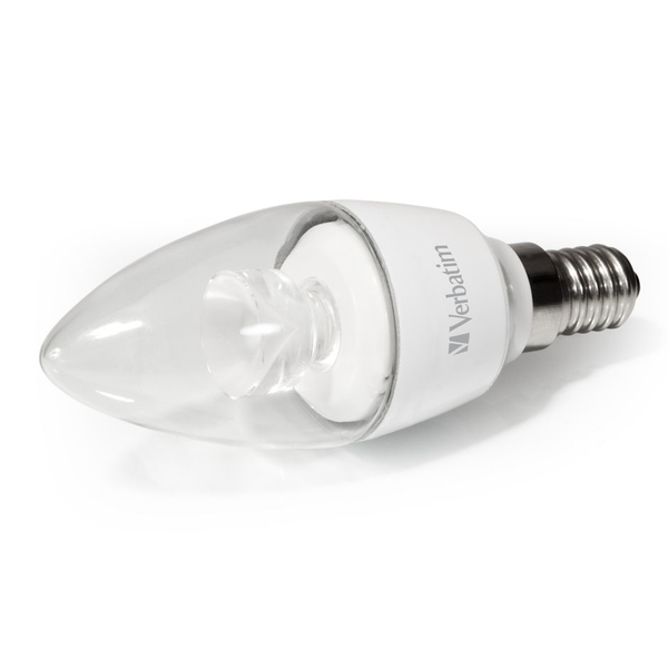 Verbatim LED Candle Clear E14 4.5W
