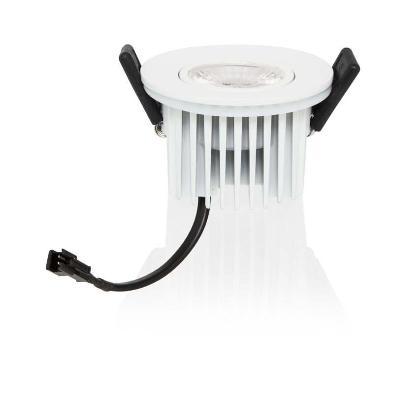 Verbatim LED Recessed Spotlight 10W 3000K White Reflect