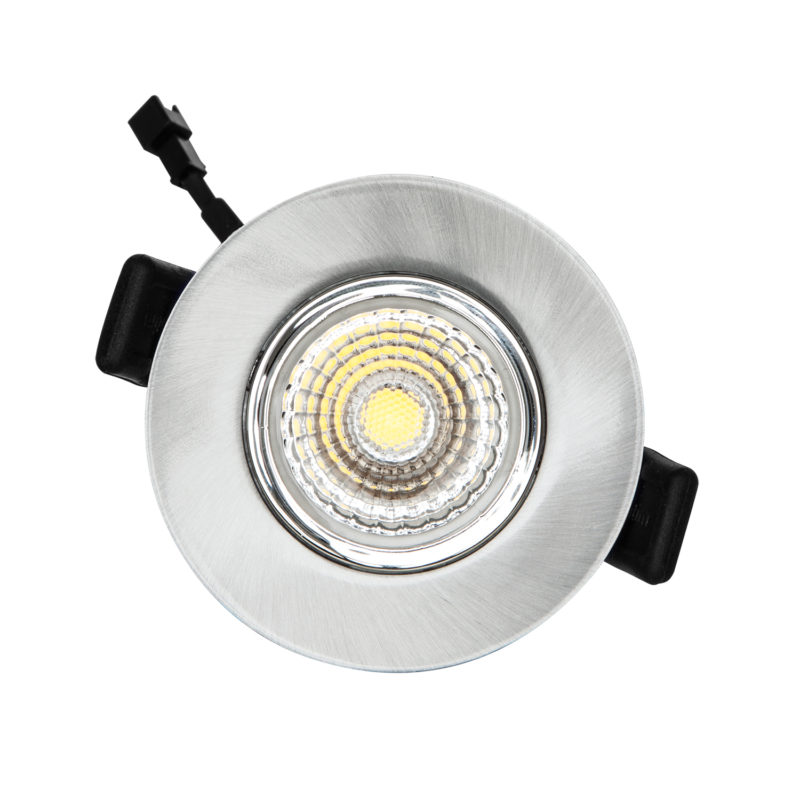 Verbatim LED Recessed Spotlight 3000K Silver Main