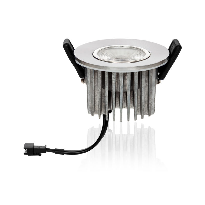 Verbatim LED Recessed Spotlight 3000K Silver Reflect