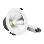 Verbatim LED Trumpet Downlight 15W 52944-5 Angled with Driver