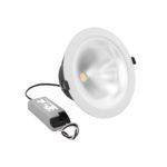 Verbatim LED Trumpet Downlight 20W 52939 Angled with Driver