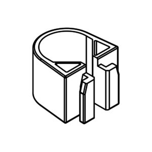 Hansgrohe Cassetta Soap Dish 22mm Clip