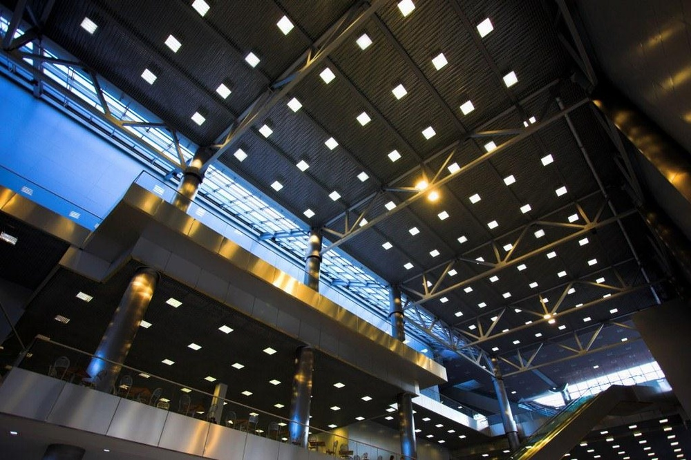 Image of LED lighting panels