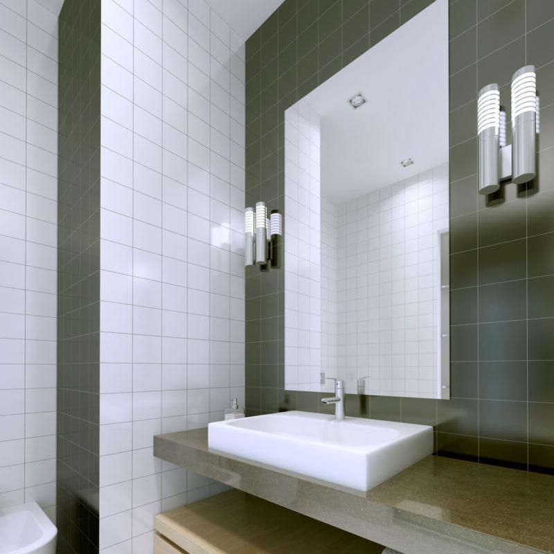 Herschel Select XL Mirror Bathroom Installation