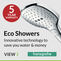 Eco Showers from Hansgrohe