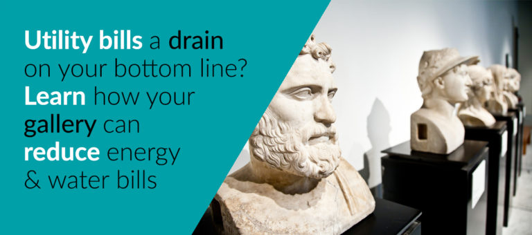 Learn&Save: Energy and Water Saving in Galleries