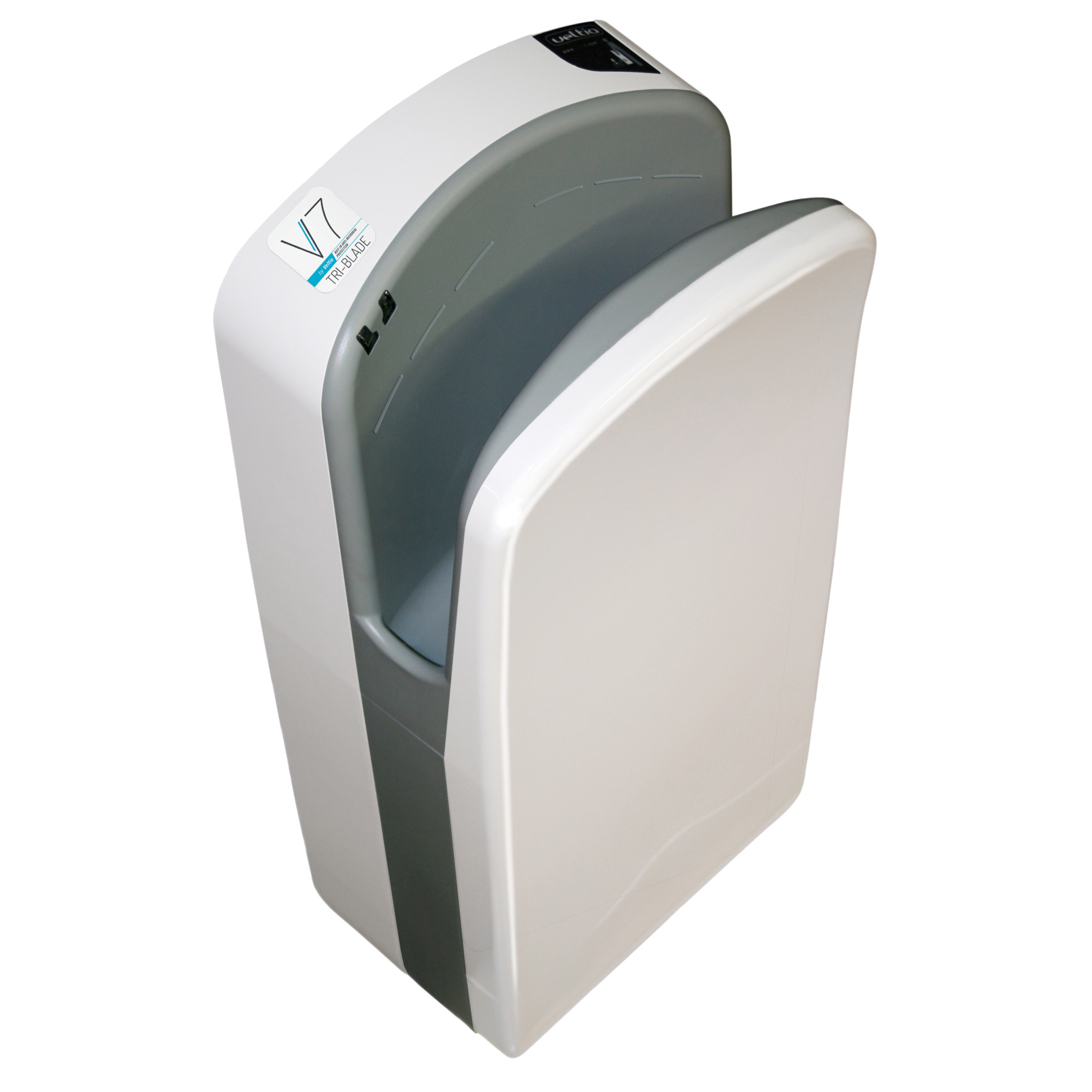 Veltia V7 Tri Blade Hand Dryer White